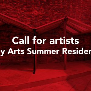 Call for artists - City Arts Summer Residency